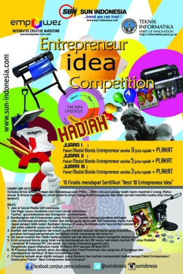 entrepreuner idea competition SUN