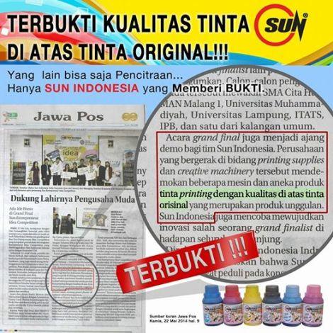 tinta SUN Indonesia